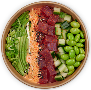 Foto Poke Bowl Spicy Tuna